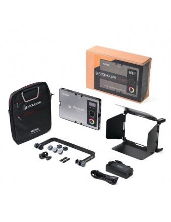 "PILOTCINE RX50 ATOMCUBE 10"" RGBWW PORTABLE VIDEO LIGHT 2500K-8500K (DELUXE EDITION)"