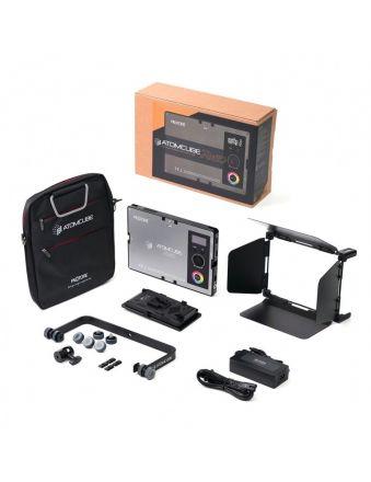 "PILOTCINE RX50 ATOMCUBE 10"" RGBWW PORTABLE VIDEO LIGHT 2500K-8500K (PREMIUM EDITION)"