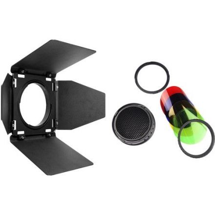 GODOX BD-08 BARNDOOR, GRID AND GEL KIT FOR AD400PRO