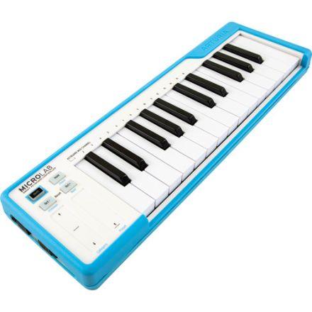 ARTURIA 230511 MICROLAB USB MIDI CONTROLLER (Blue)