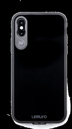 LEMURO CA-IXS-BLK-GL PHONE CASE FOR IPHONE XS