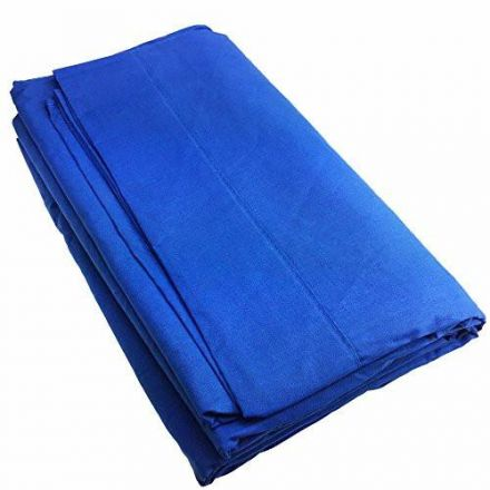 VISICO MUSLIN BACKGROUND 3X6MTR(BLUE)