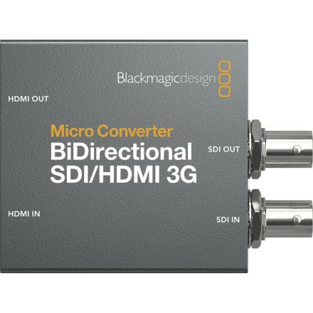 BLACKMAGIC DESIGN CONVBDC/SDI/HDMI03GP MICRO CONVERTER BIDIRECT SDI/HDMI 3G PSU