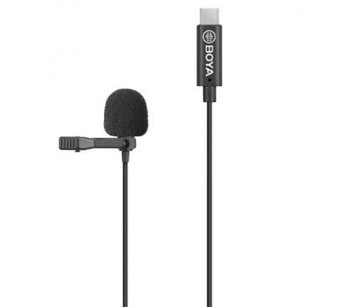 BOYA BY-M3-OP CLIP-ON DIGITAL LAVALIER MICROPHONE FOR DJI OSMO POCKET