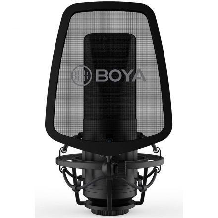 BOYA BY-M1000 LARGE DIAPHRAGM CONDENSER MICROPHONE ""