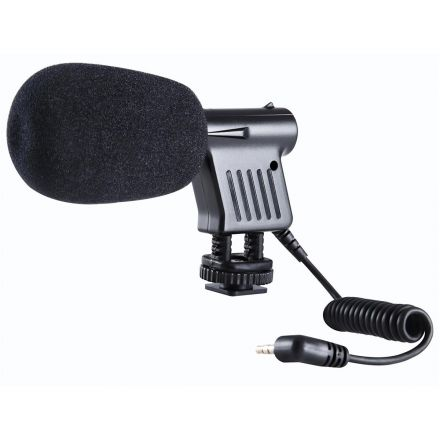 BOYA MICROPHONE FOR CAMCORDERS DSLR BY-VM01