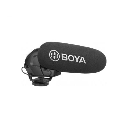 BOYA BY-BM3032 DIRECTIONAL ON-CAMERA SUPER-CARDIOID SHOTGUN MICROPHONE