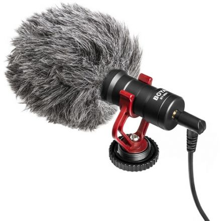 BOYA BY-MM1 MINI CARDIOID CONDENSER MICROPHONE""