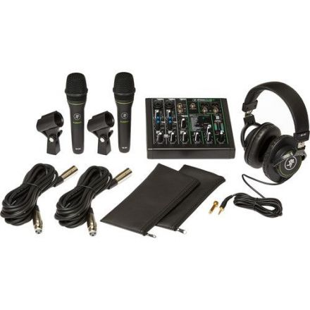 MACKIE PERFORMER BUNDLE CONTENT 6 CHANNEL WITH BESPECO MSRA10 DESK MICROPHONE STAND BUNDLE OFFER