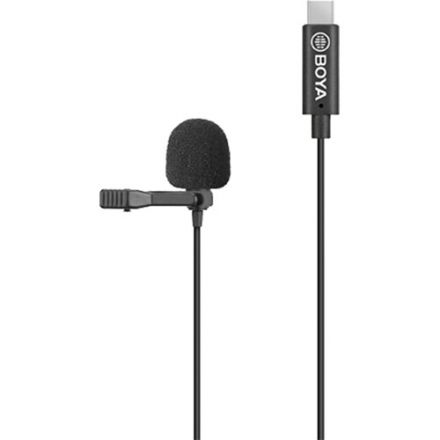 BOYA BY-M3 CLIP-ON LAVALIER MIC (USB-C DEVICES)