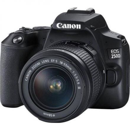 CANON CAMERA EOS 250D WITH CANON LENS 50MM F1.8 STM BUNDLE OFFER