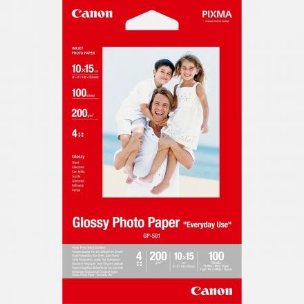 "CANON GP-501 GLOSSY PHOTO PAPER 4"" X 6"" (100 SHEETS)"