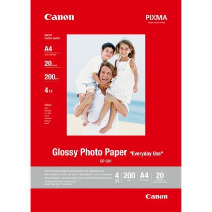 CANON GP-501 GLOSSY PHOTO PAPER A4 (20 SHEETS)