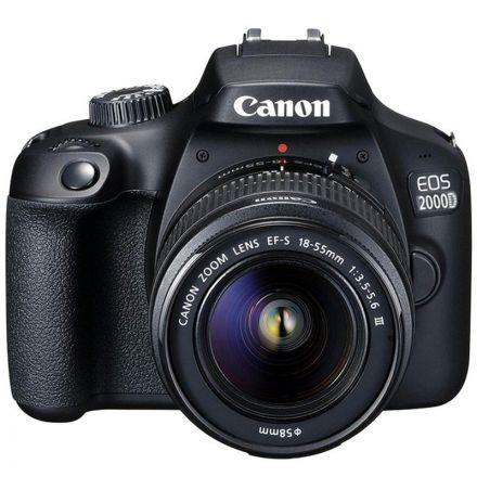 CANON EOS 2000D W/ EF-S 18-55MM KIT LENS