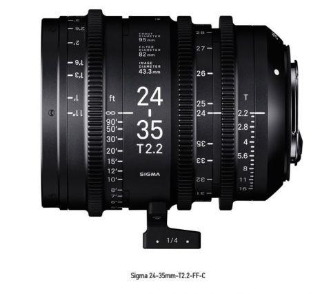 SIGMA CINE LENS 24-35MM T2.2 FF F/CE (METRIC)