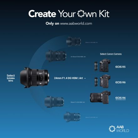 Build Your Own Canon Mirrorless Camera with Sigma Lens Kit