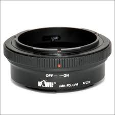 JJC LENS MOUNT ADAPTER CANON-FD LENS TO EOS-M CAMERA