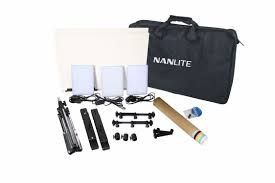 NANLITE COMPAC 20 3KIT LED 3 HEAD PHOTO LIGHT KIT