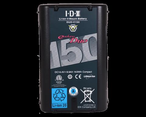 IDX DUO-C150 143WH LI-ION V-MOUNT BATTERY