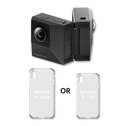 Insta360 EVO 3D/2D VR Camera w/ Holoframe Case