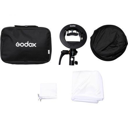 GODOX 60X60 SPEEDLITE S2 BRACKET KIT + SOFTBOX 60X60 (BOWENS MOUNT ) FOR V1