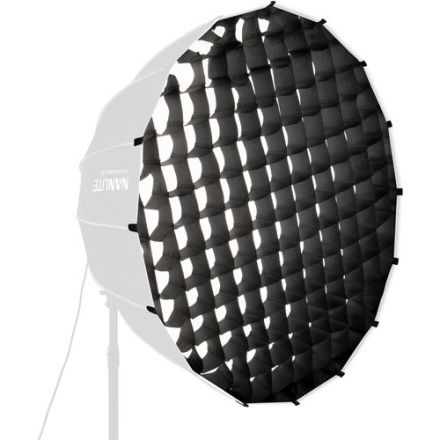 "NANLITE EC-PR120 FABRIC GRID FOR PARABOLIC 120 SOFTBOX (47"")"