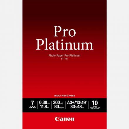 CANON PT-101 PHOTO PAPER PRO PLATINUM A3 / 20 SHEETS