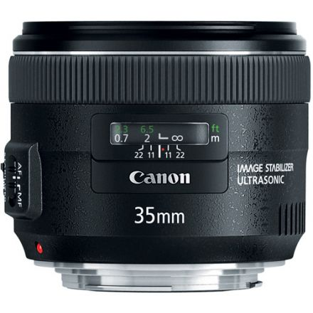 CANON LENS 35MM F2 IS USM