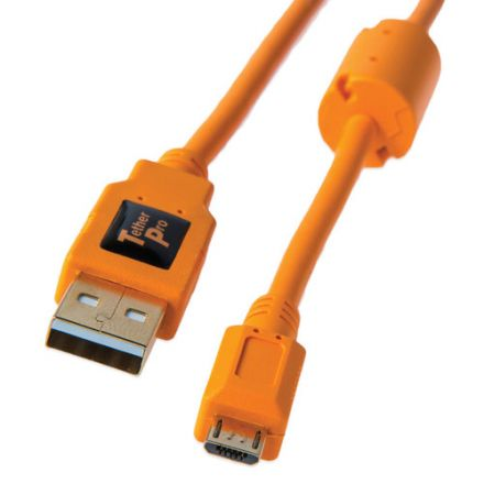 TETHERTOOLS USB 2.0 A MALE TO MICRO-B 5PIN CABLE