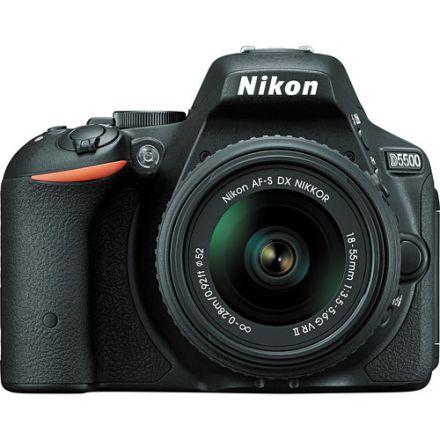 NIKON SLR CAMERA D-5500 KIT BLACK