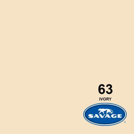 SAVAGE 63-12 WIDETONE SEAMLESS BACKGROUND PAPER IVORY (A1 2.72M X 11M)
