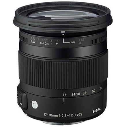 SIGMA LENS AF 17-70MM F2.8-4 DC MACRO OS HSM (CANON) NEW