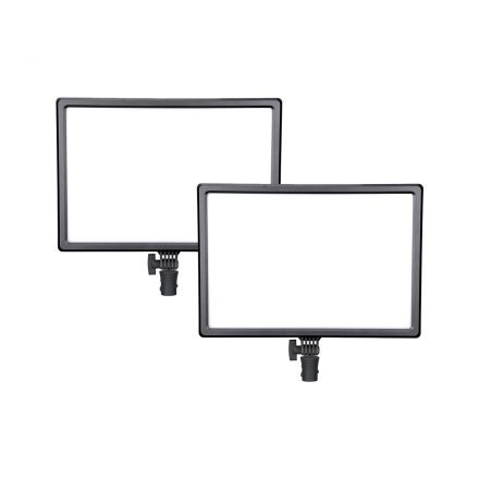 NANLITE LUMIPAD 25 2KIT BI-COLOR LED LIGHT PANEL WITH POWER ADAPTER