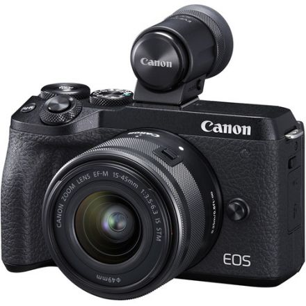 CANON EOS M6 MARK II WITH BENRO GAMMA II + SANDISK SDHC 32GB AND BENRO T660EX TRIPOD BUNDLE OFFER