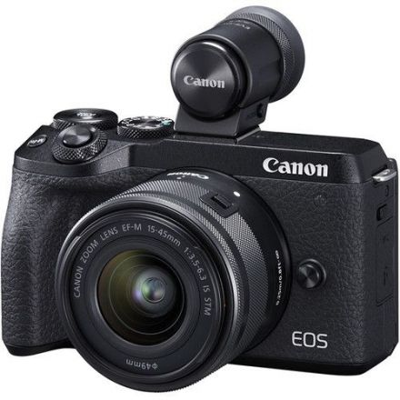 CANON M6 II WITH 15-45MM LENS + CANON EF-M 28MM LENS BUNDLE OFFER