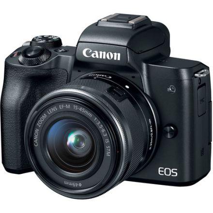CANON EOS M50 MIRRORLESS CAMERA + 15-45MM LENS