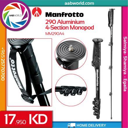 MANFROTTO 290 ALU MONOPOD MM290A4