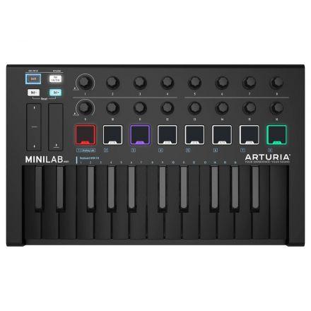 ARTURIA 230502 MK II PORTABLE USB-MIDI CONTROLLER (BLACK)