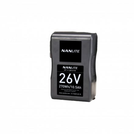 NANLITE BT-V-26V270 26V 270WH SONY V-MOUNT BATTERY