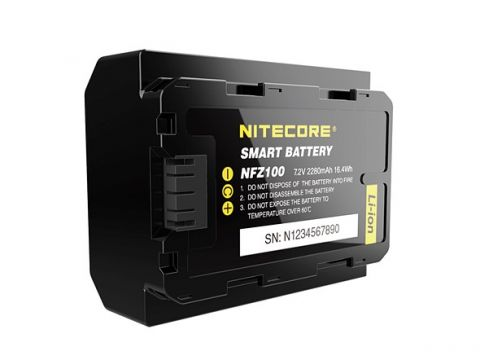 NITECORE NFZ100 SMART CAMERA BATTERY FOR SONY A7III / A7RIII / A7R IV / A9