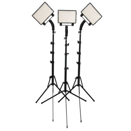 NANLITE CN-5400PRO 3 KIT PRO KIT WITH LIGHT STAND
