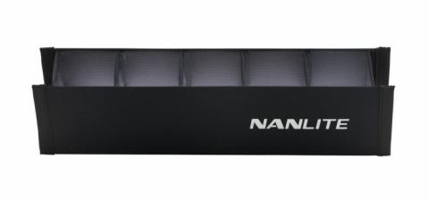 NANLITE EC-PTII6C BARNDOOR WITH GRID FOR PAVOTUBE II 6C