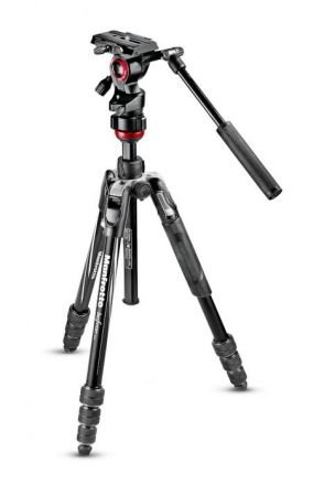 MANFROTTO MVKBFRT-LIVE MANFROTTO BEFREE LIVE VIDEO TRIPOD KIT WITH FLUID HEAD