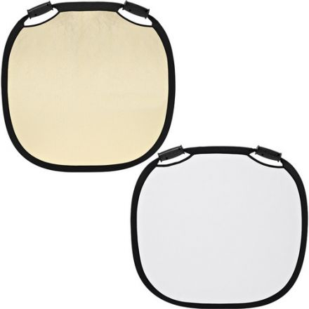 PROFOTO 100963 COLLAPSIBLE REFLECTOR - SUNSILVER/WHITE - 47