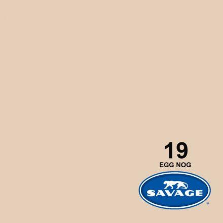 SAVAGE 19-1253 WIDETONE SEAMLESS BACKGROUND PAPER EGG NOG (A2 1.35M X 11M)