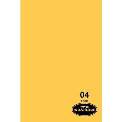 SAVAGE 04-1253 WIDETONE SEAMLESS BACKGROUND PAPER SAND (A2 1.35M X 11M)