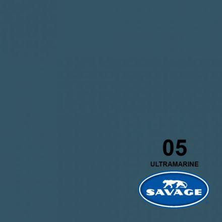 SAVAGE 5-12 WIDETONE SEAMLESS BACKGROUND PAPER ULTRAMARINE (A1 2.72M X 11M)