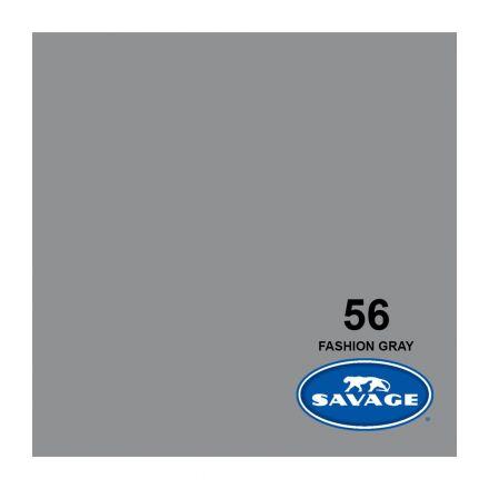 SAVAGE 56-1253 WIDETONE SEAMLESS BACKGROUND PAPER FASHION GRAY (A2 1.35M X 11M)