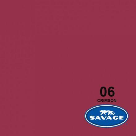 SAVAGE 6-1253 WIDETONE SEAMLESS BACKGROUND PAPER CRIMSON (A2 1.35M X 11M)