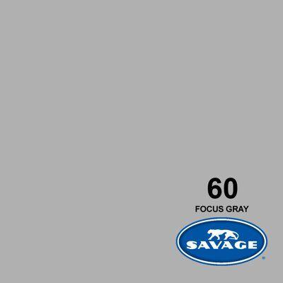SAVAGE 60-1253 WIDETONE SEAMLESS BACKGROUND PAPER FOCUS GRAY (A2 1.35M X 11M)